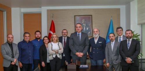 URYAD Yönetim Kurulu, Kültür ve Turizm Bakanı Sayın Mehmet Nuri Ersoy'a nezaket ziyaretinde bulundu.