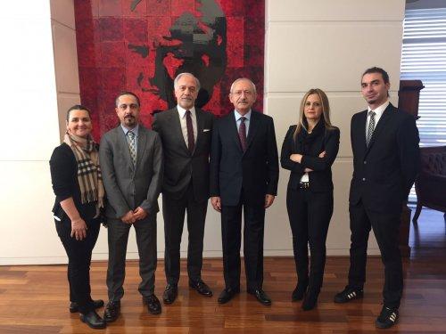 URYAD'dan Cumhuriyet Halk Partisi Genel Başkanı'na Ziyaret