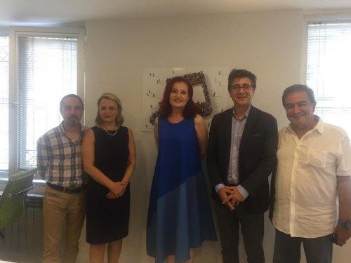 URYAD Yönetimi MSG' yi ziyaret etti.
