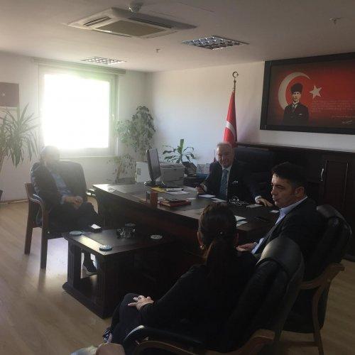 URYAD Yönetimi PTT ve KULE A.Ş Ziyareti